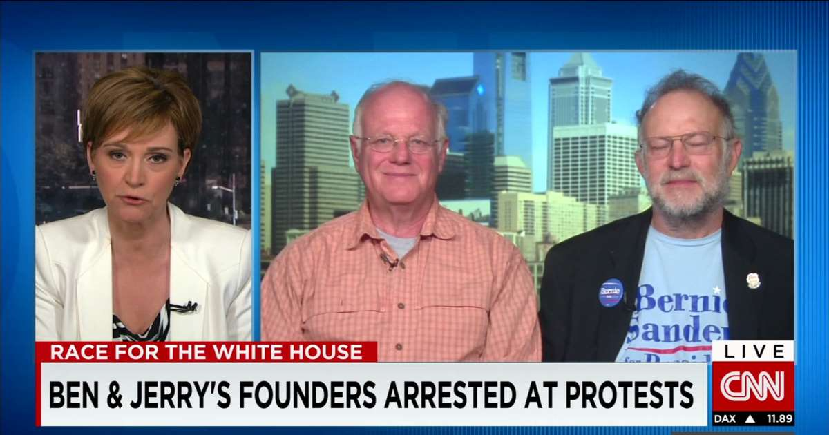 Founders of Ben & Jerry's Ice Cream on CNN inteview