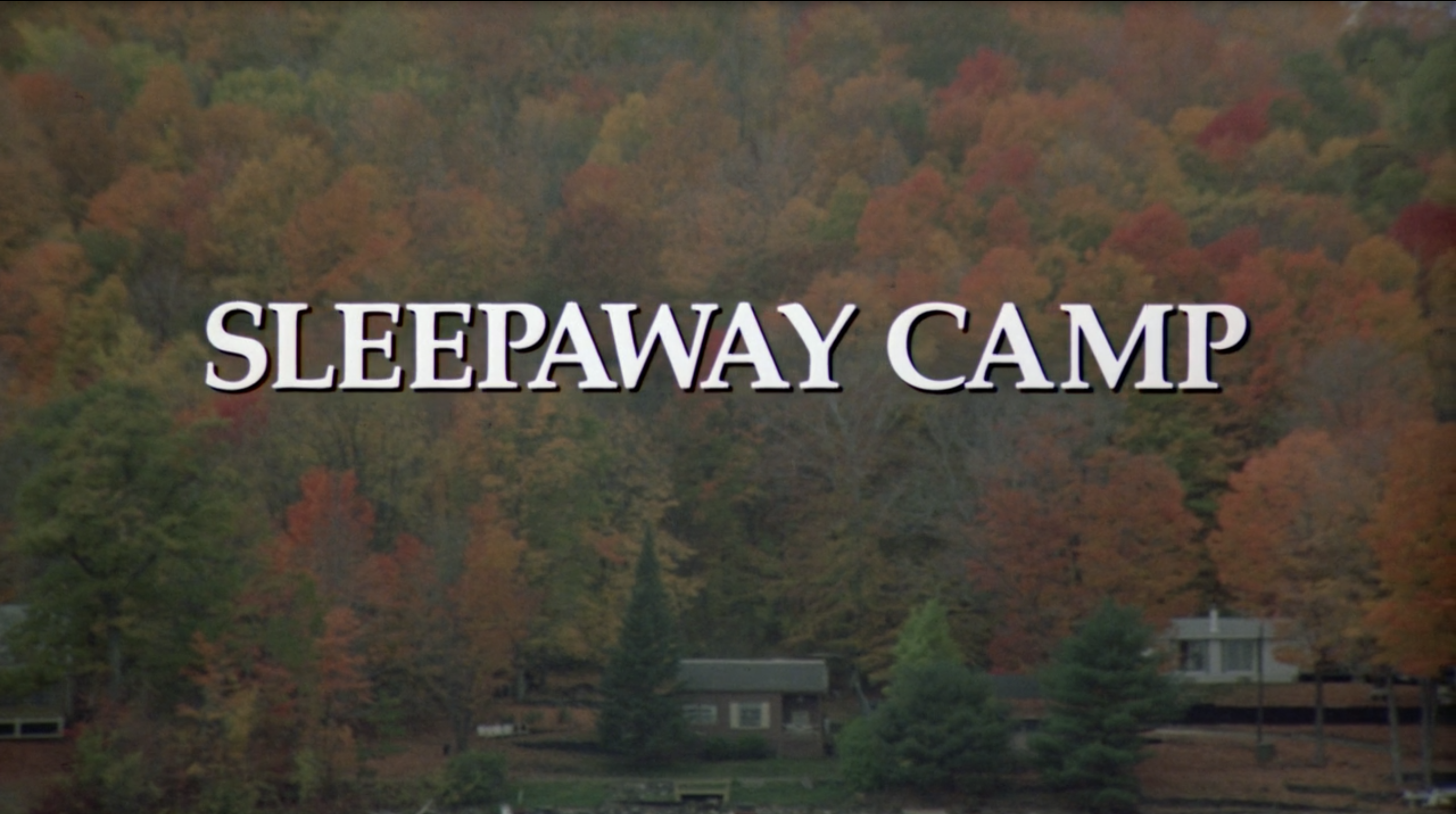 Opening image of the film Sleepaway Camp