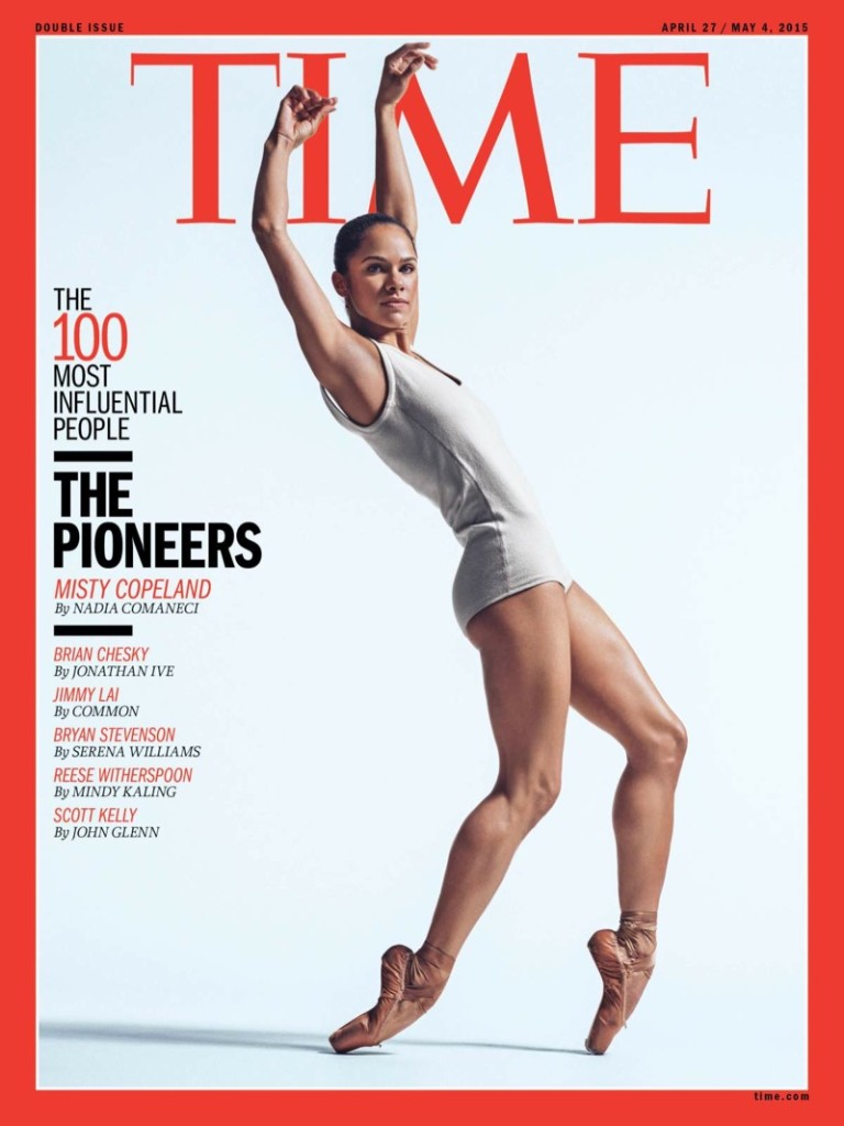 Misty Copeland on Cover of Time Magazine