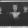 Newspaper clipping with a picture of Sateena