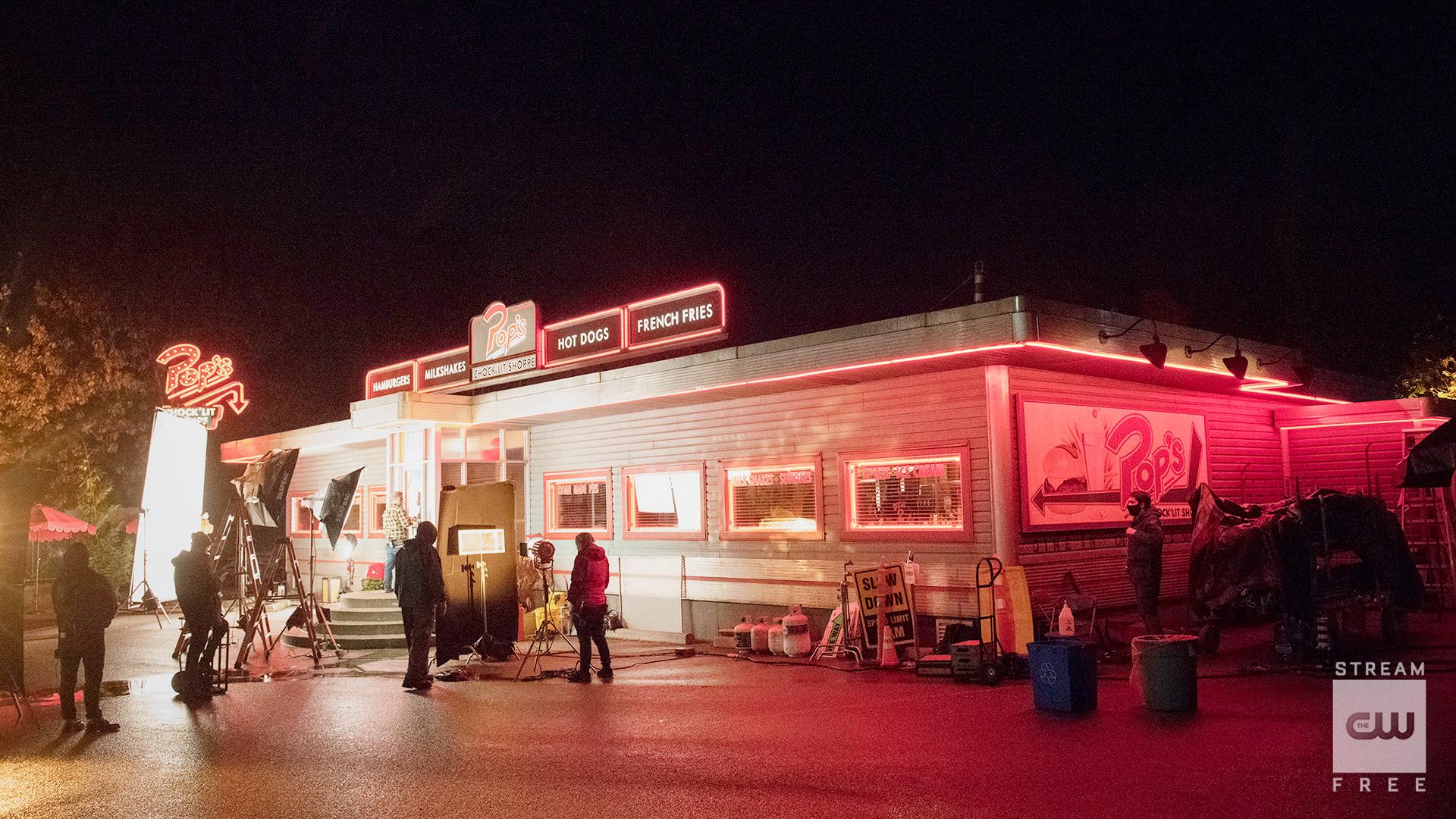 Pop's Chock'lit Shoppe in Riverdale