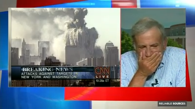 Former CNN anchor Aaron Brown tells CNNMoney's Brian Stelter what it was like to report on September 11, 2001