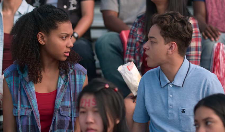 Monse argues with Ruby at a football game
