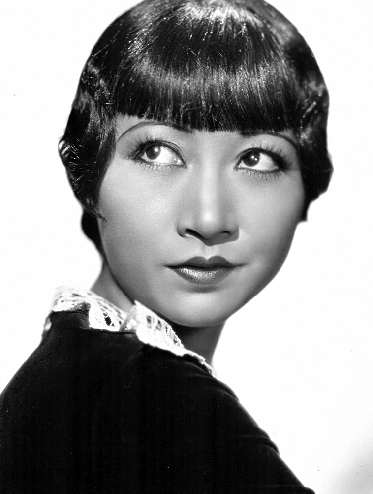 A publicity photo of Anna May Wong from 1935.