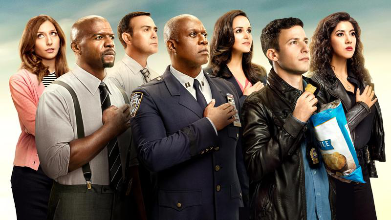 The cast of Brooklyn 99